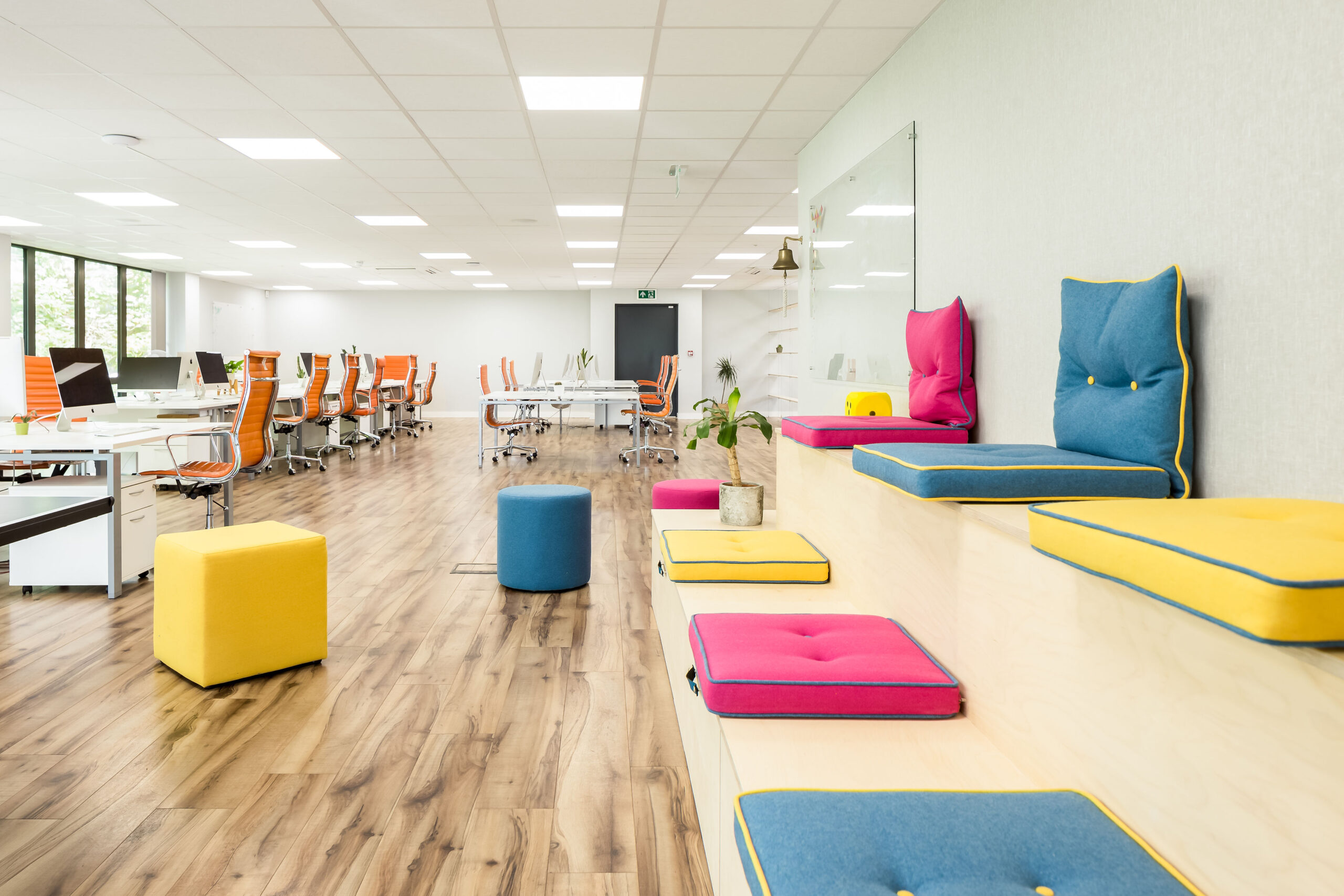 Will the coworking office environment be key to the future of office spaces?